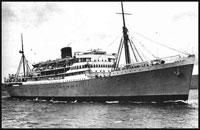 photo of troopship